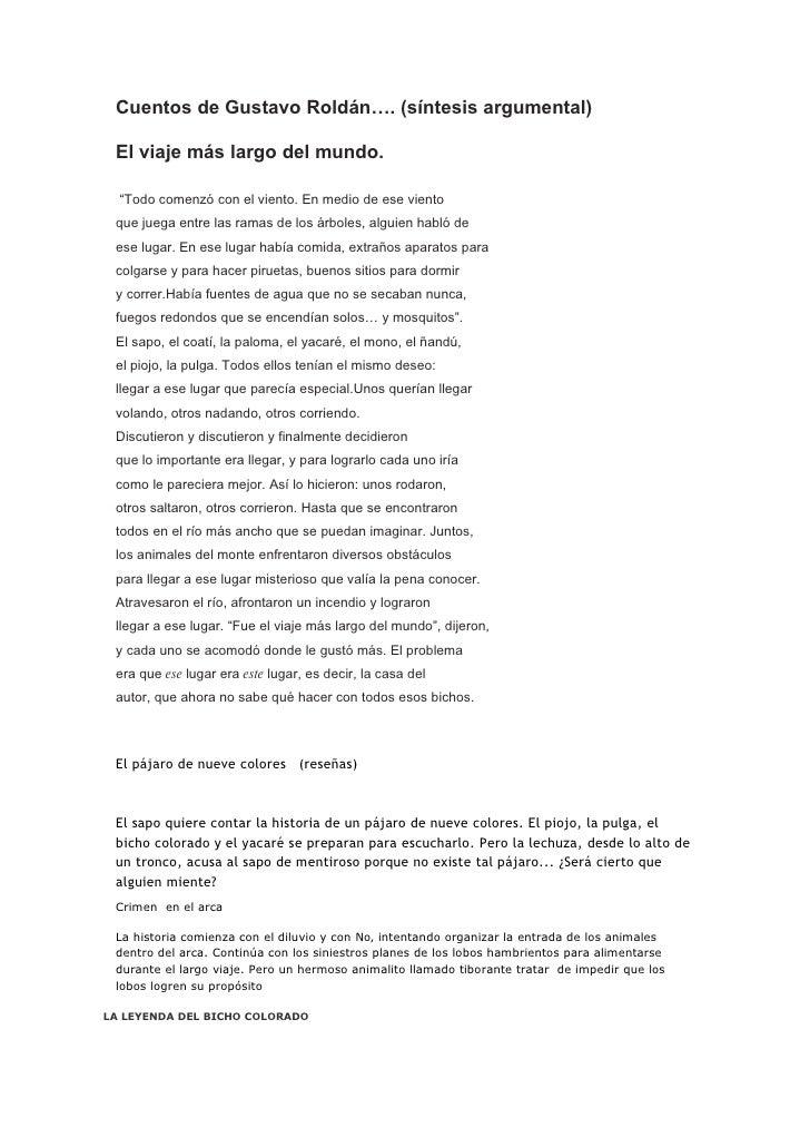 cuento el viaje mas largo del mundo pdf