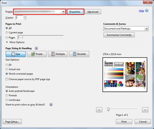 cambiar color pdf para imprimir