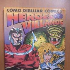 como dibujar heroes y villanos pdf