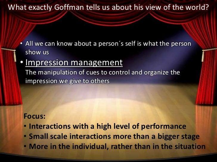 behavior in public places goffman pdf