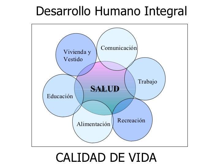 concepto de desarrollo humano integral pdf