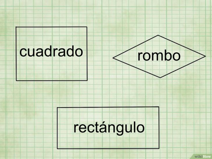 area de cuadrados y rectangulos guía