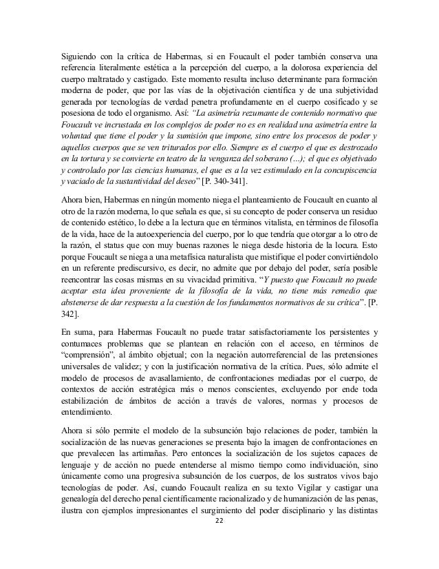 analisis social desde vigilar y castigar pdf