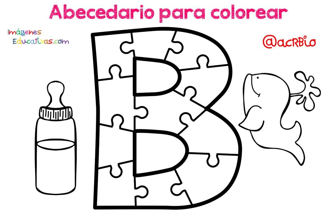 abecedario para colorear con imagenes pdf