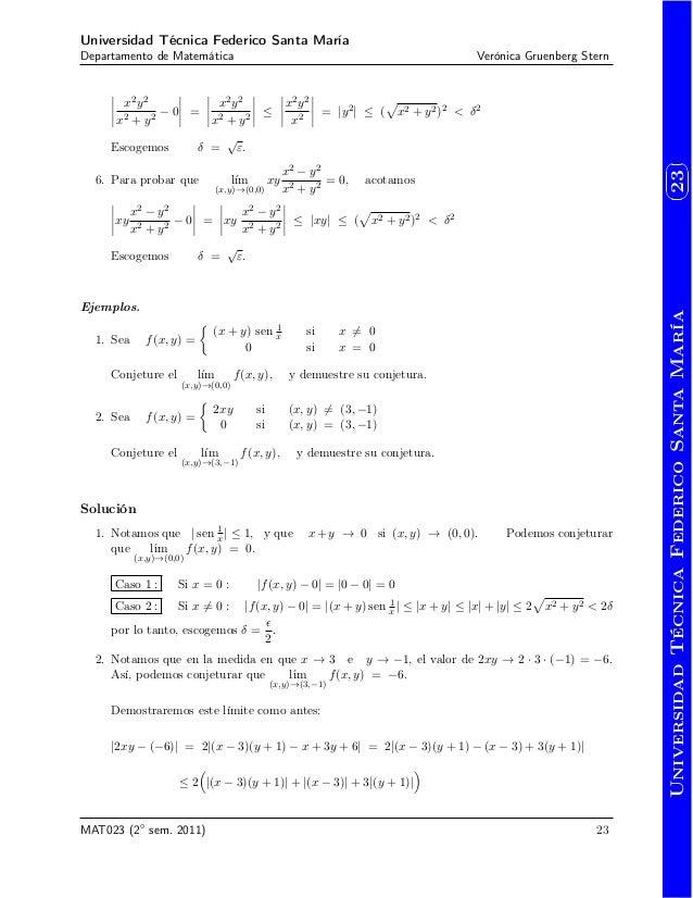 apuntes de calculo iii varias variables pdf
