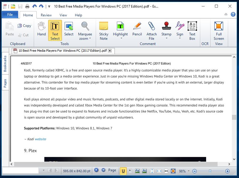 best free pdf software for windows