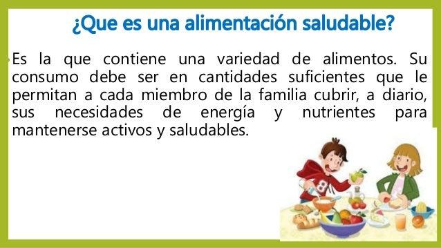 alimentacion saludable que es pdf