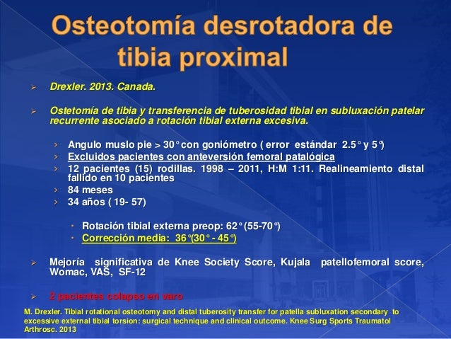 anteversion femoral torsion tibial externa en tac pdf