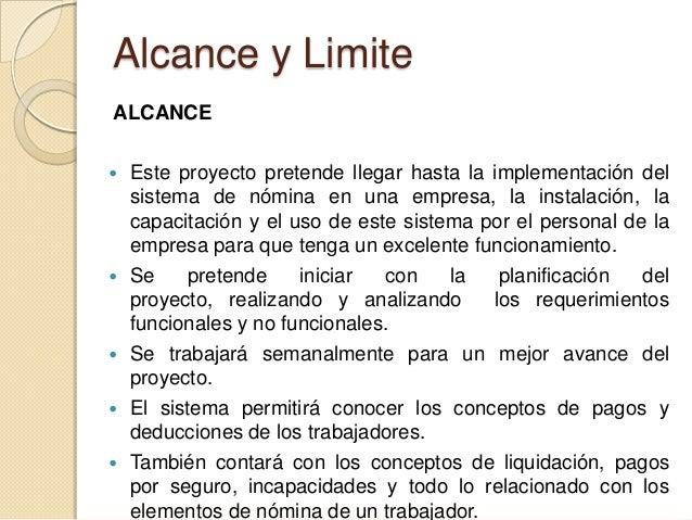 alcance y limitaciones de la conclusion de la tesis pdf