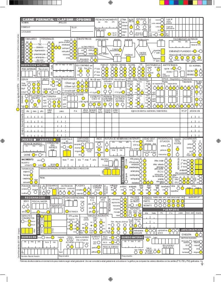 carnet de control consultorio pdf