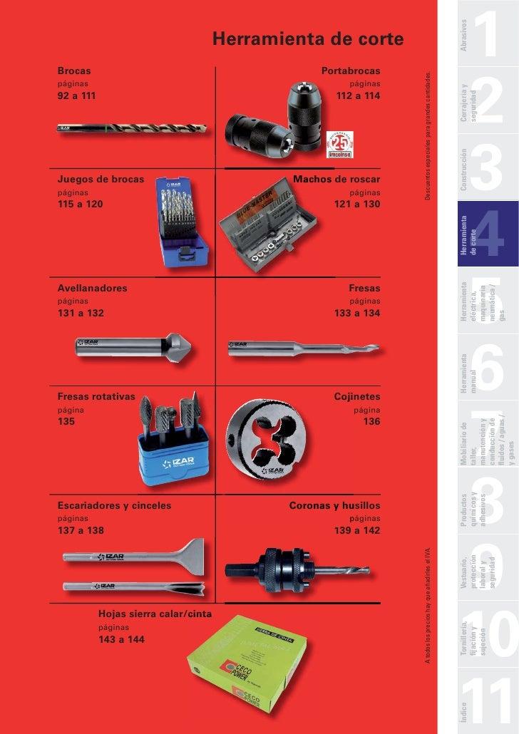catalogo de herramientas de corte pdf