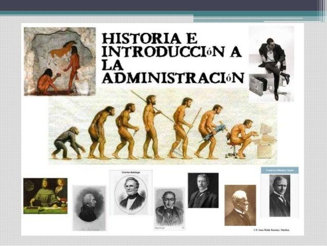 antecedentes historicos de la administracion pdf