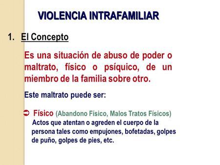 definicion de violencia contra la mujer pdf en chile