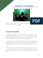 como mejorar la autoestima en adolescentes pdf