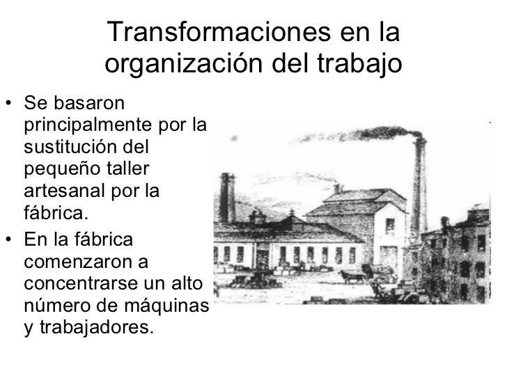 condiciones de trabajo en la segunda revolucion industrial