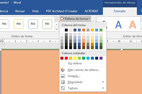 aplicacion para cambiar color de hojas en pdf
