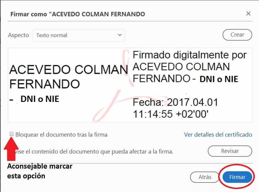 combinar archivos pdf con firma digital