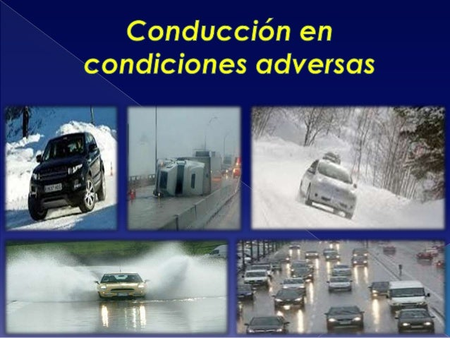 actos y condiciones en la conduccion