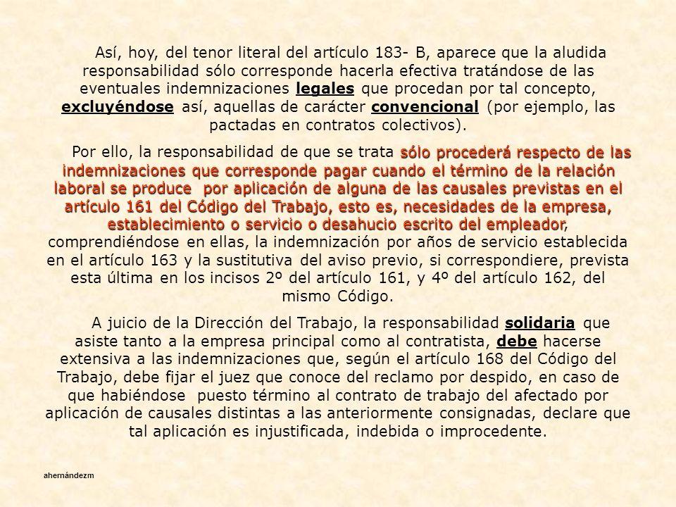 articulo 161 codigo del trabajo pdf