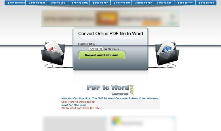 convertir en linea gratuita de word a pdf