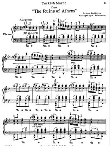 beethoven turkish march piano pdf