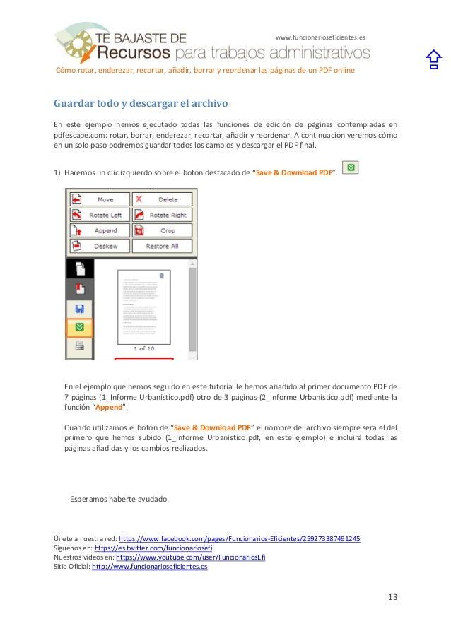 borrar letra en un pdf