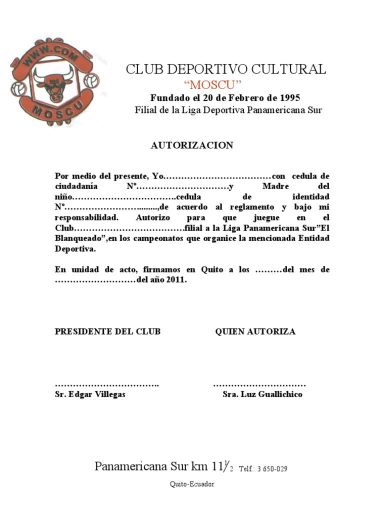 carta de solicitud de profesionales para equipo de futbol
