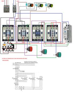 circuito control inversion de giro de un motor trifasico pdf