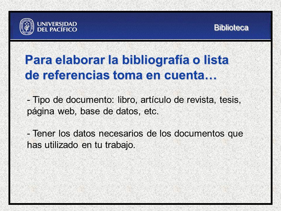 como citar bibliografia de archivos pdf online