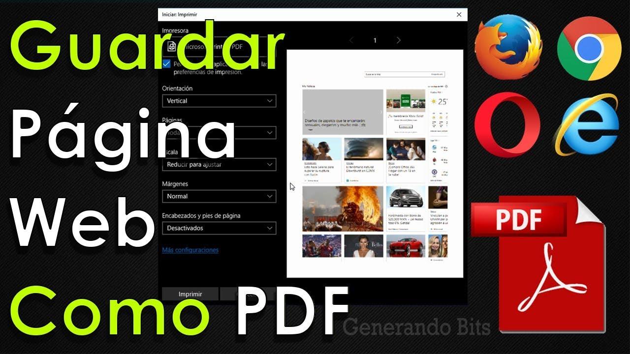 convertir pagina web a pdf on line