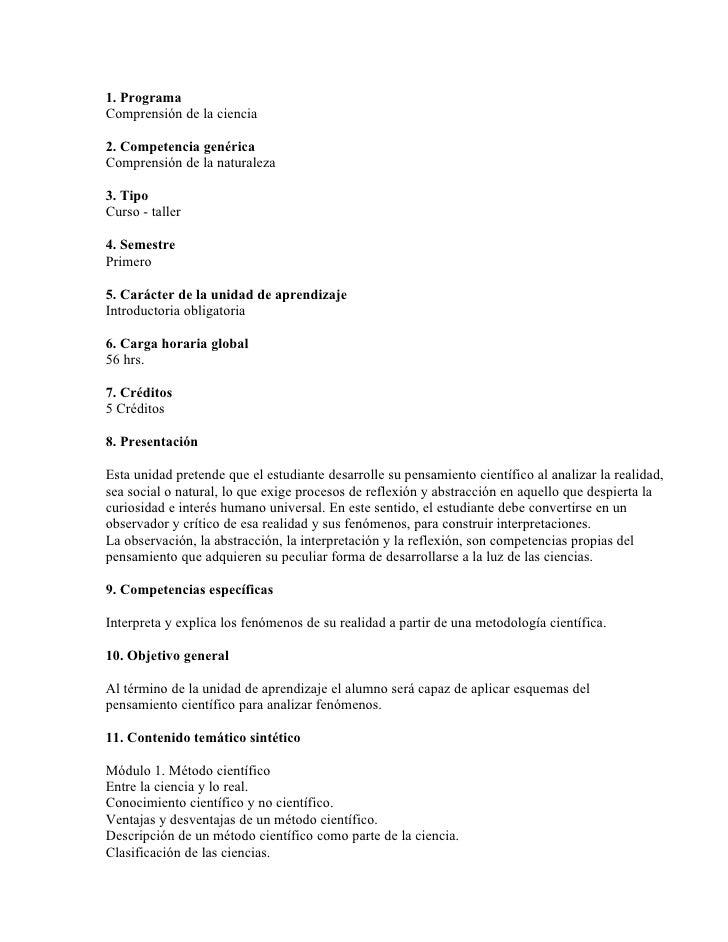 comprension de la ciencia pdf