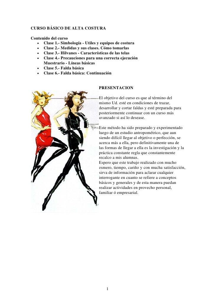 curso basico de costura pdf